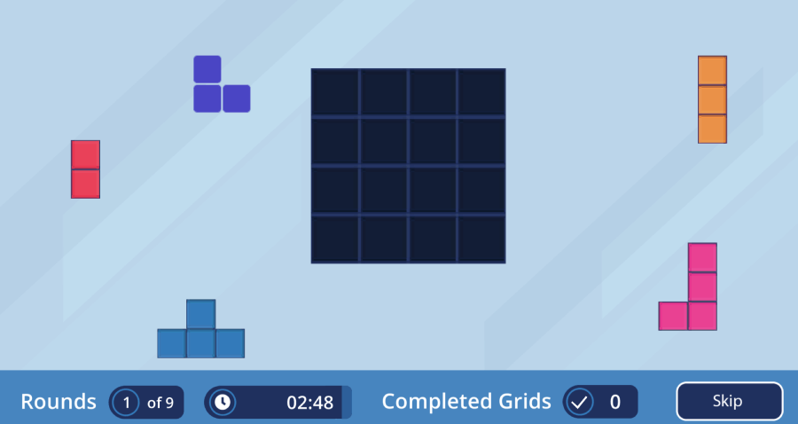 Cognify Game - Gridlock