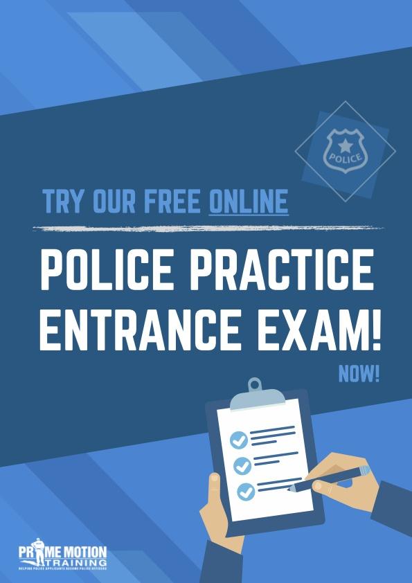 Police Online Practice Exam