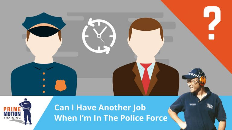Can I Have Another Job When I'm In The Police Force