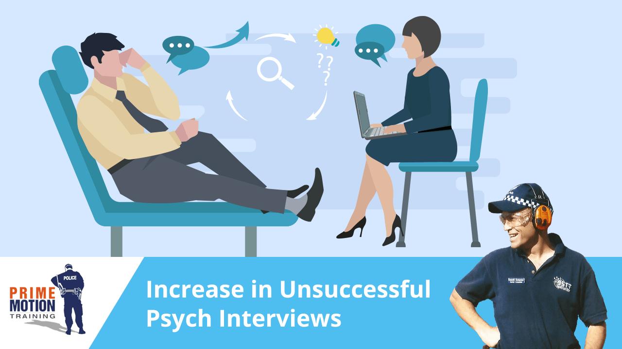 A recent spike in unsuccessful Psych Interviews   Prime
