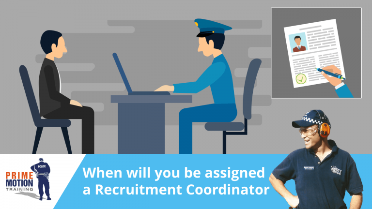 When will you be assigned a Recruitment Co-Ordinator