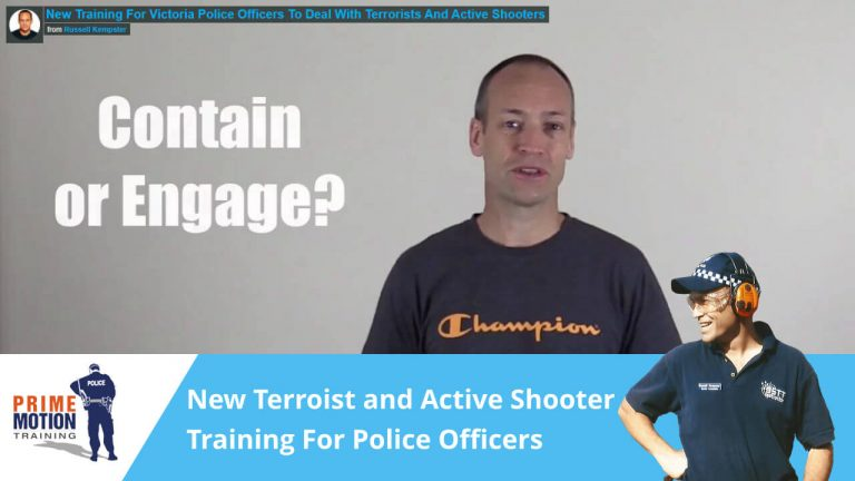 New Training For Victoria Police Officers To Deal With Terrorists And Active Shooters