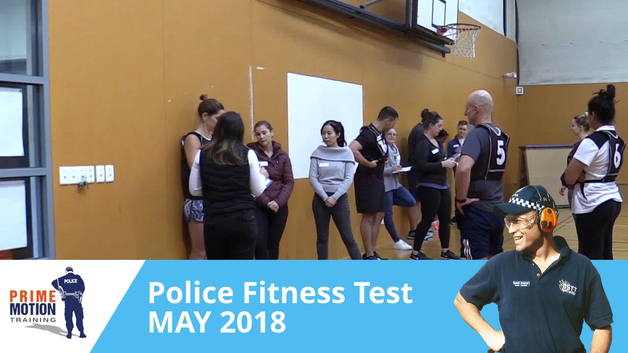 Victoria Police Fitness Test Practice highlights with Prime Motion
