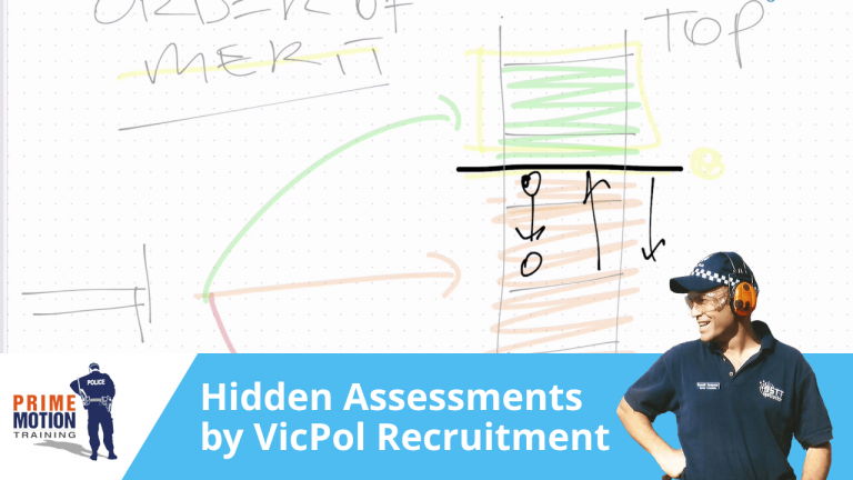 The assessments VicPol Recruitment make behind the scenes