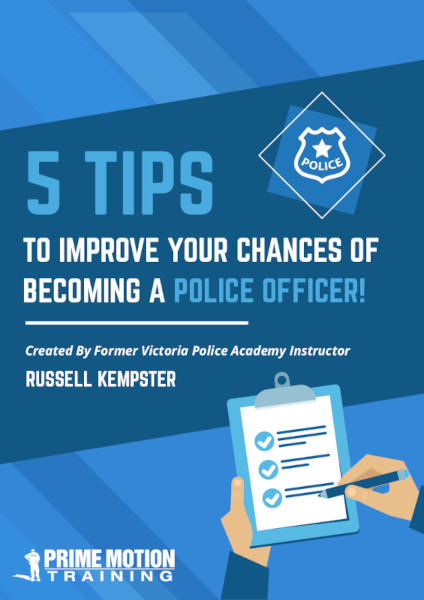 Police Recruitment Applicant Guide - 5 Tips