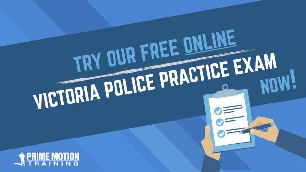 Victoria Police Practice Exam